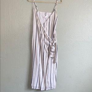Amuse society wrap dress. NWT